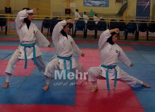 خانم ها زهرا سادات قطب زاده ، زینب شنوایی و مهسا باقری
